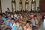 Junior Church Meeting in India